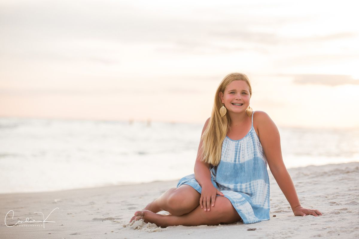 beach portraits on 30a