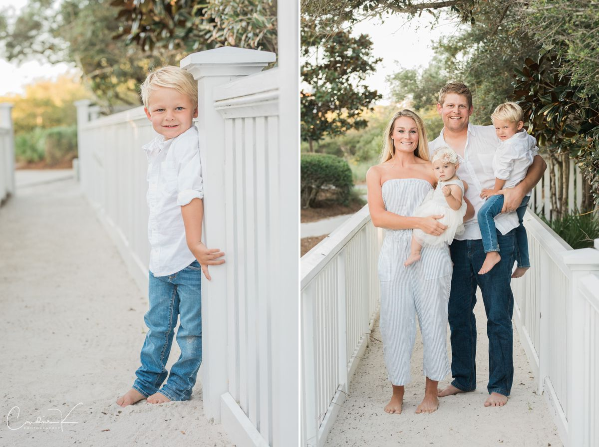 seaside family portraits