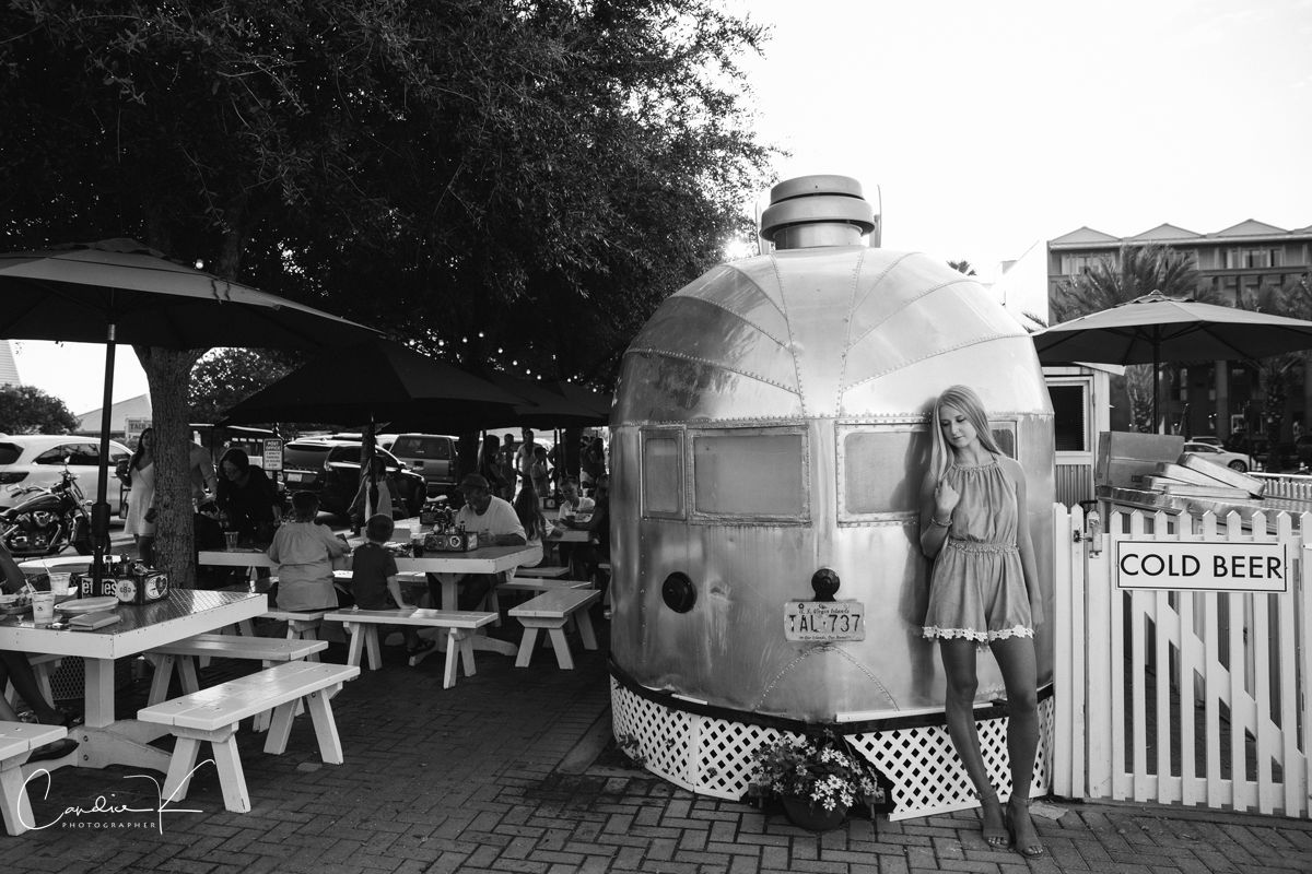 seaside Florida airstream row