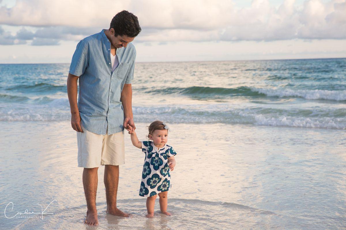 beach portraits on 30a