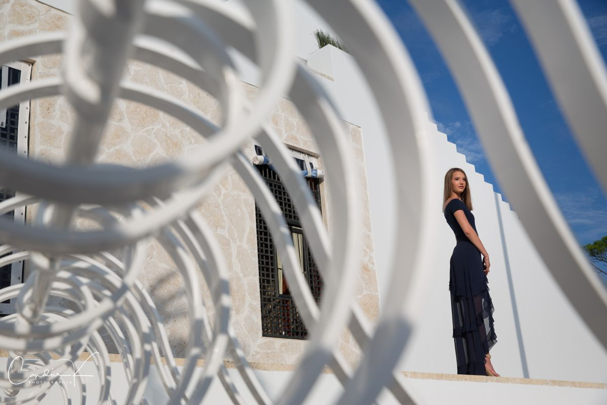 Alys beach senior portrait