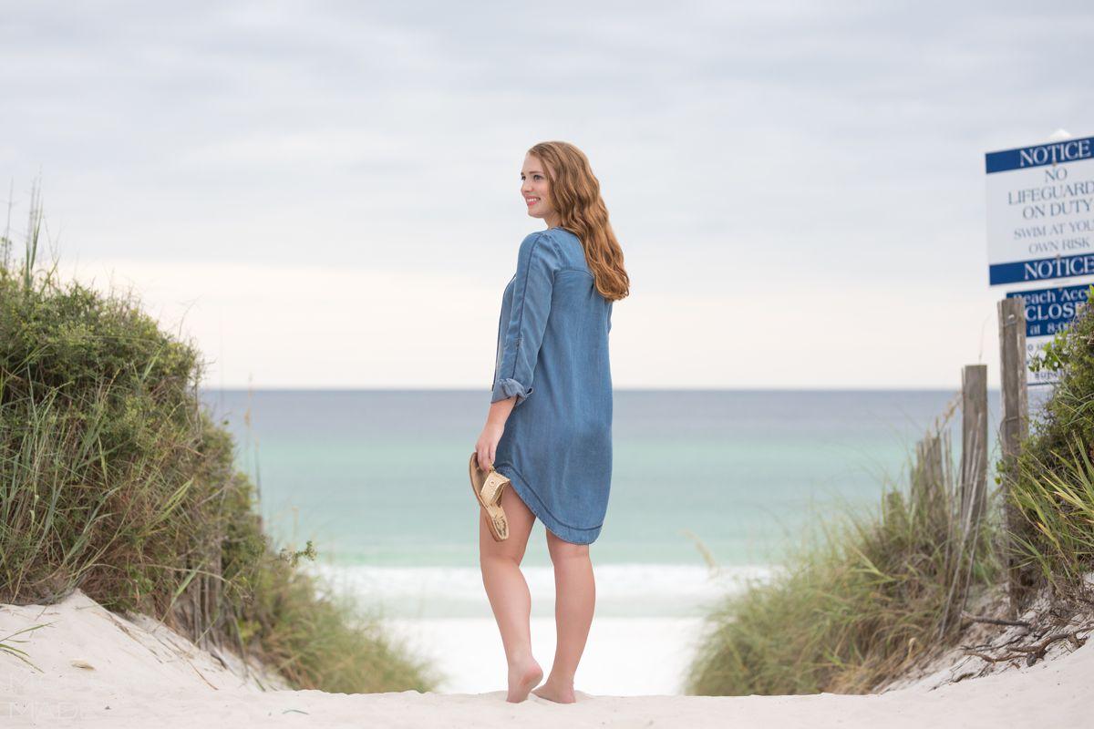 seaside fl senior portrait photographer
