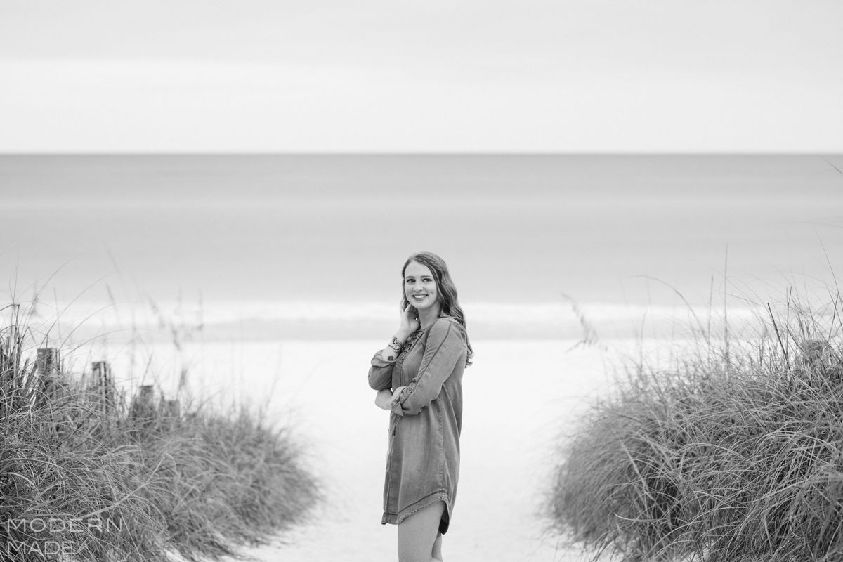 seaside fl senior portrait session