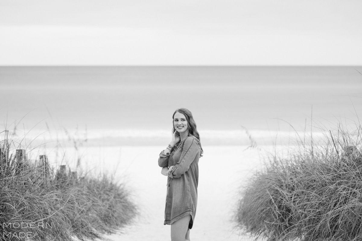 seaside fl senior portrait session