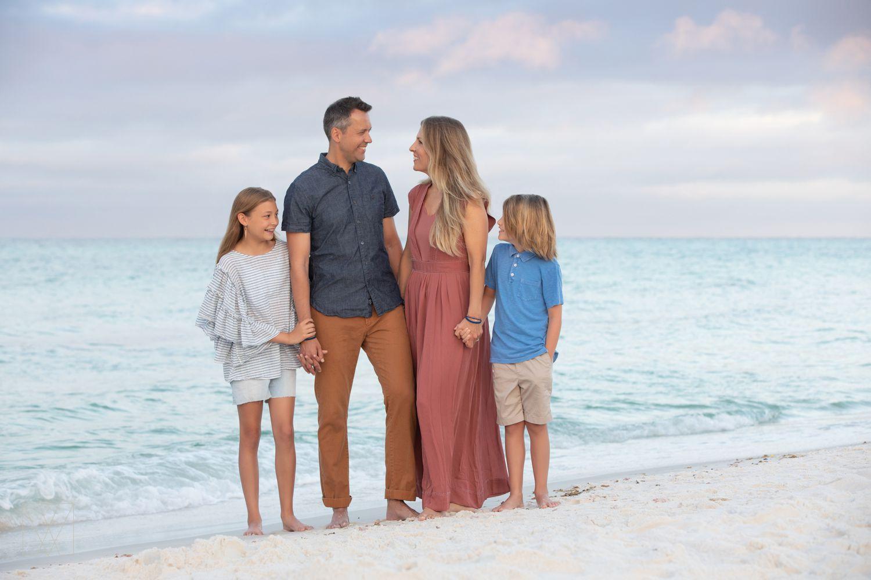 seaside family portraits